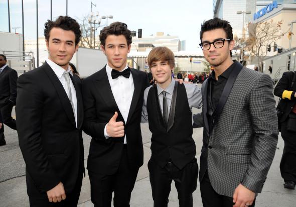 Jonas Brothers y Justin Bieber