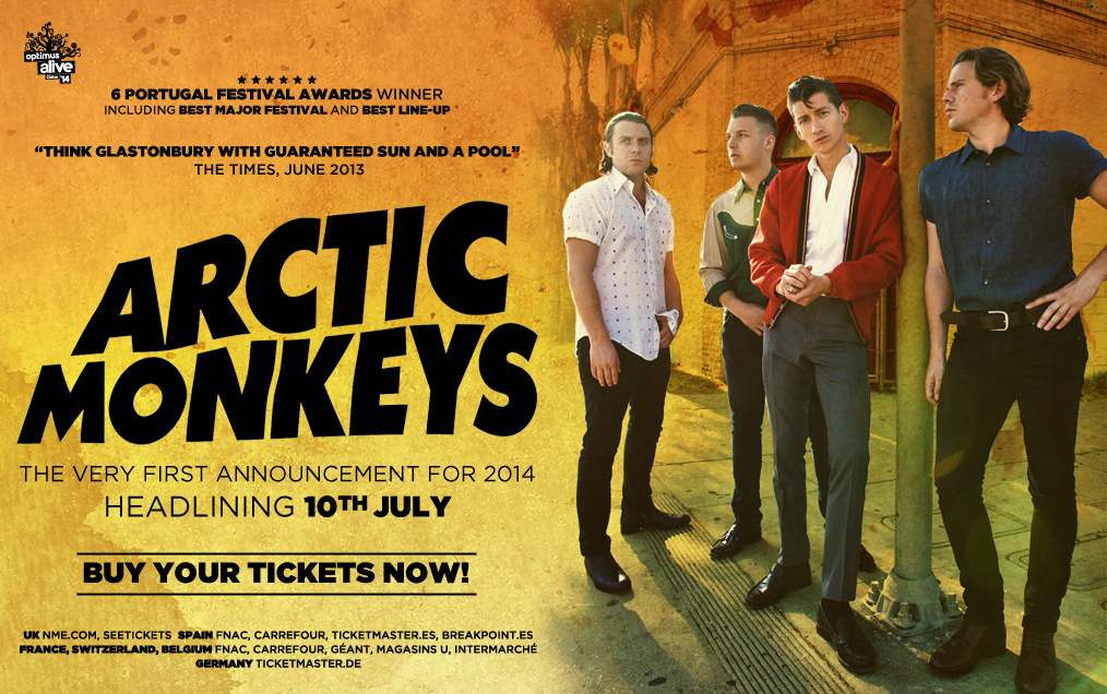 Optimus Alive 2014 - Arctic Monkeys