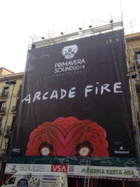 Primavera Sound Arcade Fire