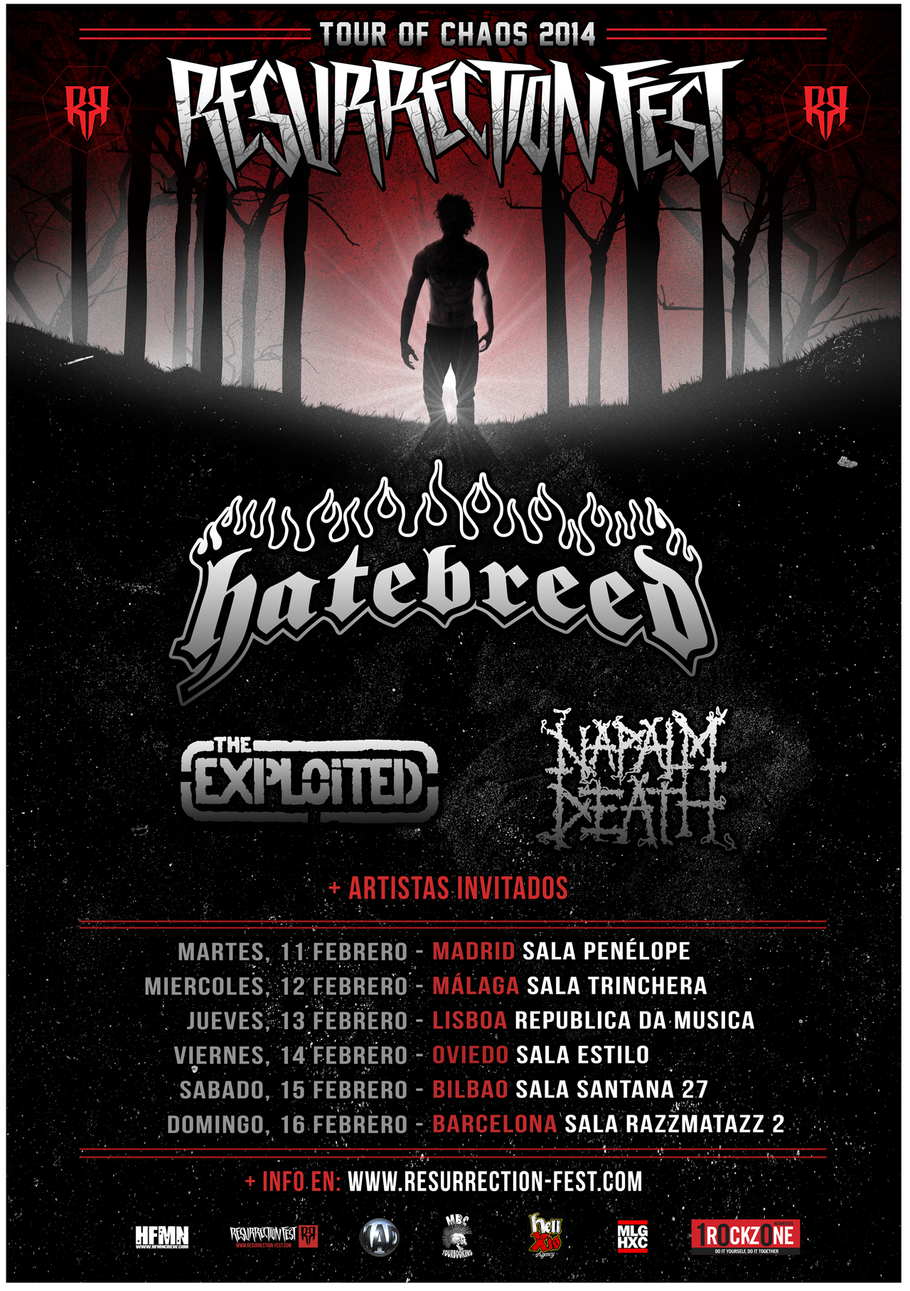 Tour of Chaos 2014 - Resurrection Fest