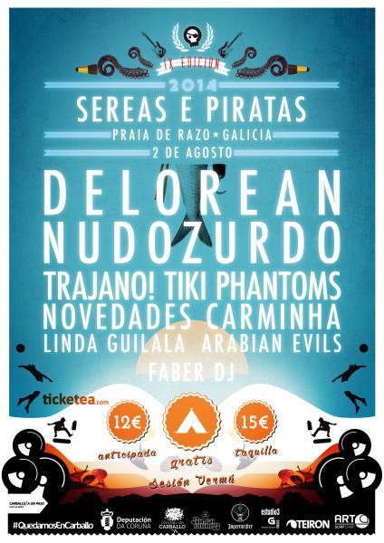 Sereas e Piratas