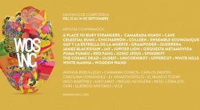 Nueva tanda de confirmaciones y distribución por días para el WOS INC, en septiembre en Santiago de Compostela