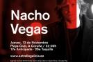 Nacho Vegas visitará el Playa Club, en A Coruña, en noviembre