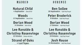 Lee Ranaldo, Garrett Klahn y Strand Of Oaks completan el cartel del American Autumn SON Estrella Galicia 2014