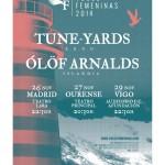 tUnE-yArDs y Ólöf Arnalds encabezan el cartel del Festival Voces Femeninas 2014